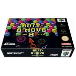 BUST A MOVE 2 ARCADE EDITION N64 EN BOITE OCC