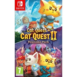 CAT QUEST 1+2 PAWSOME PACK SWI