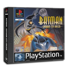 BATMAN GOTHAM CITY RACER PS1 OCC