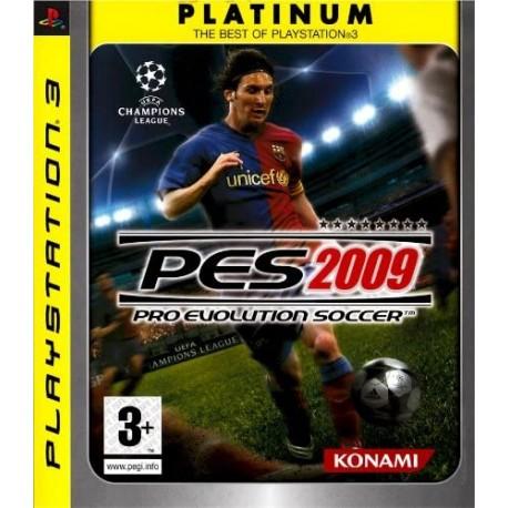 PES 2009 PLATINUM P3 VF OCC