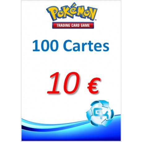 PAQUET DE 100 CARTES POKEMON_OCCASION