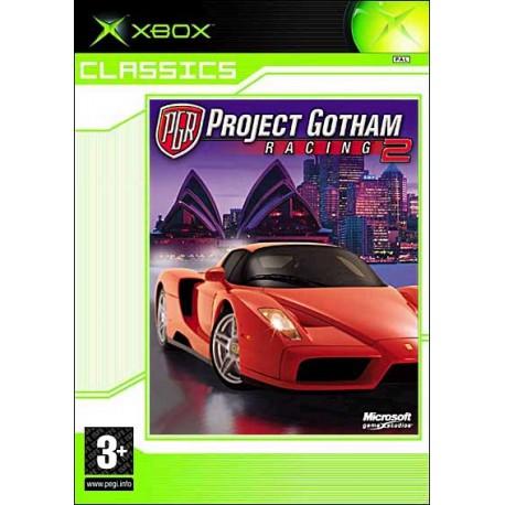 PROJECT GOTHAM RACING 2 CLASSICS_XBOX_VF_BLISTE